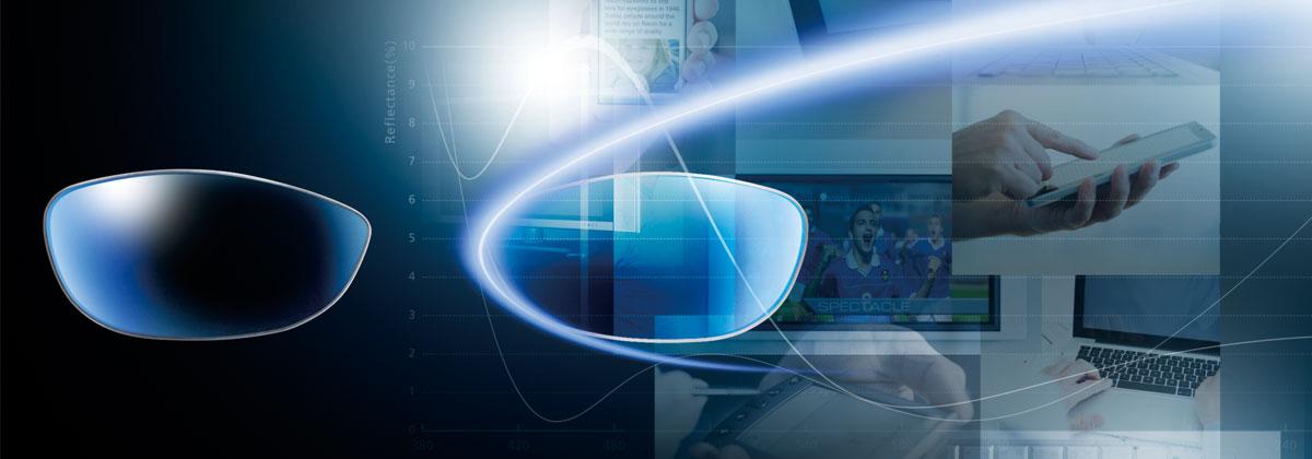 SeeCoat Blue - Blue Light Control Technology